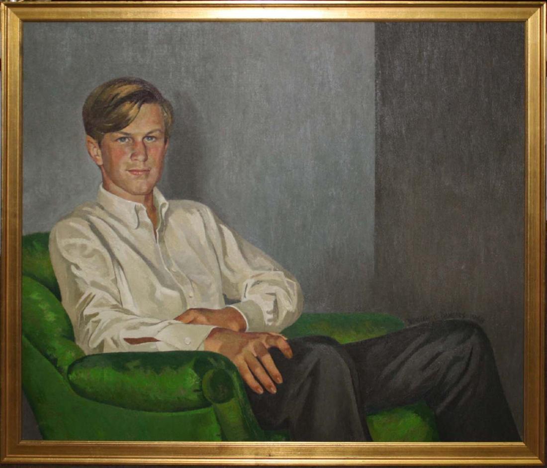 Benham C. Dangers (20th C) Portrait of Handsome young - 2