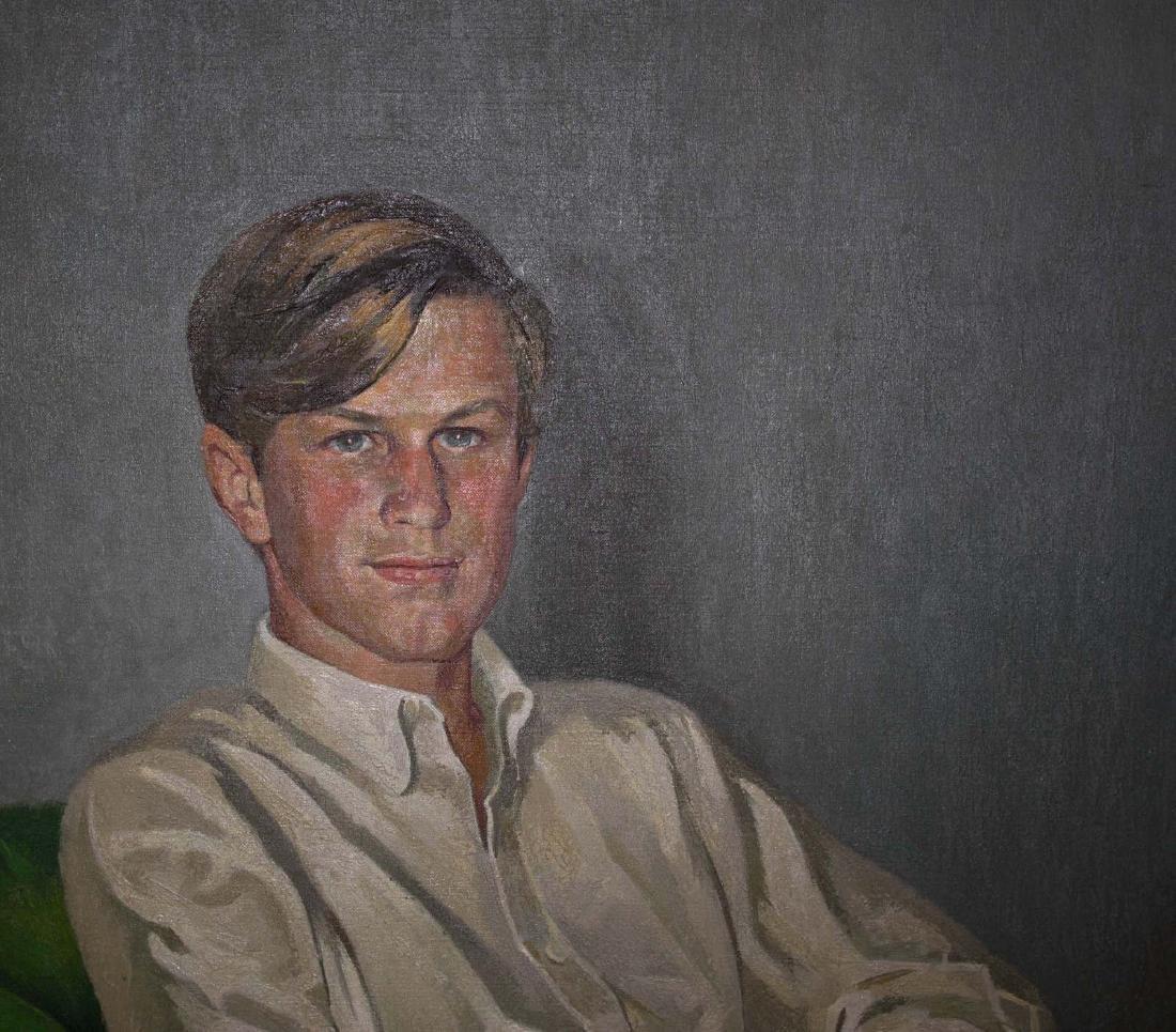 Benham C. Dangers (20th C) Portrait of Handsome young - 4