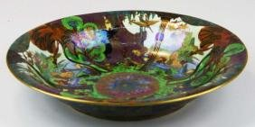 Wedgwood Fairyland Lustre Lily Tray with Garden of