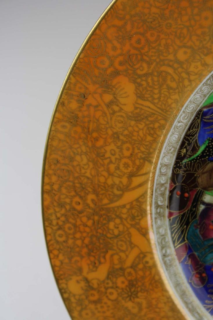 Wedgwood Fairyland Lustre plate with Imps on a Bridge - 4