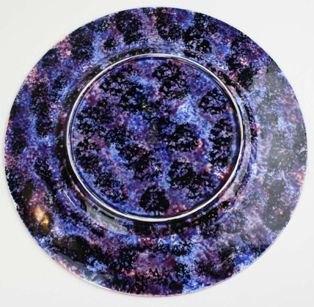 Wedgwood Fairyland Lustre plate with Imps on a Bridge - 5