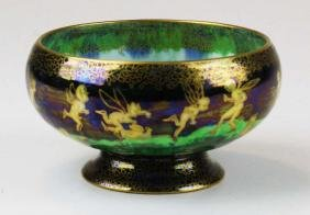 Wedgwood Fairyland Lustre pattern z4968 Empire footed