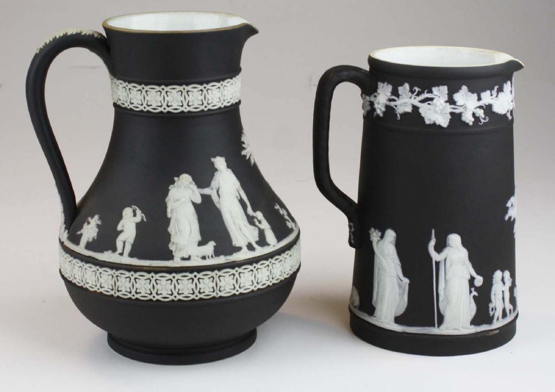 Wedgwood black dip Jasperware Etruscan and Trojan - 3