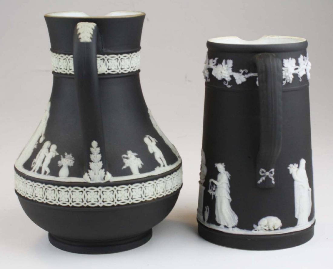 Wedgwood black dip Jasperware Etruscan and Trojan - 4
