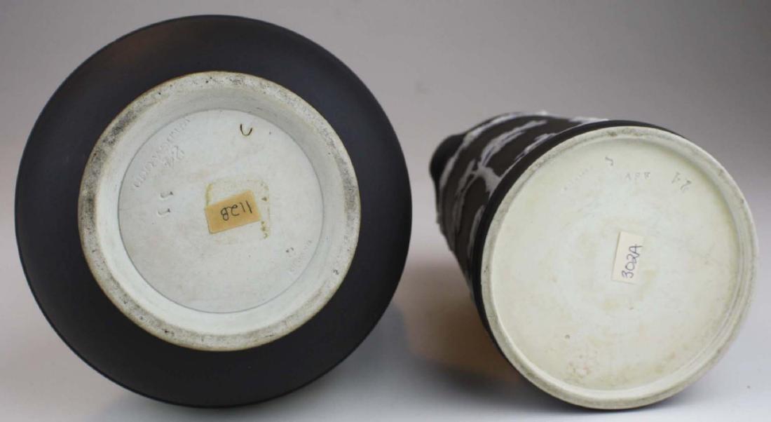 Wedgwood black dip Jasperware Etruscan and Trojan - 5