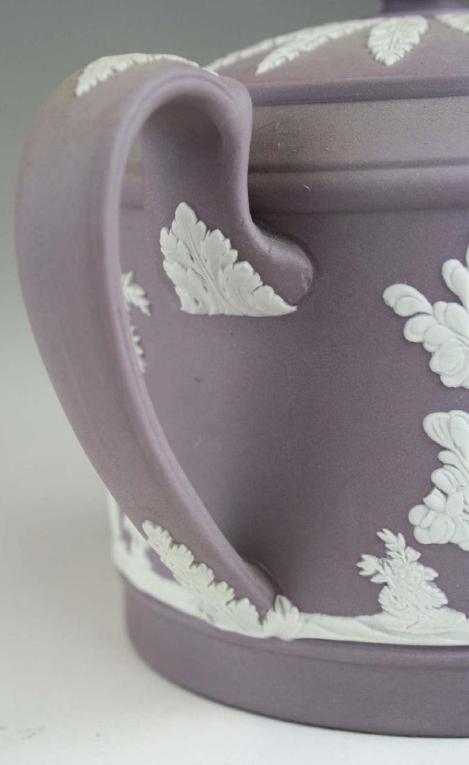 6 pcs. Wedgwood solid Lilac Jasperware pottery - 8