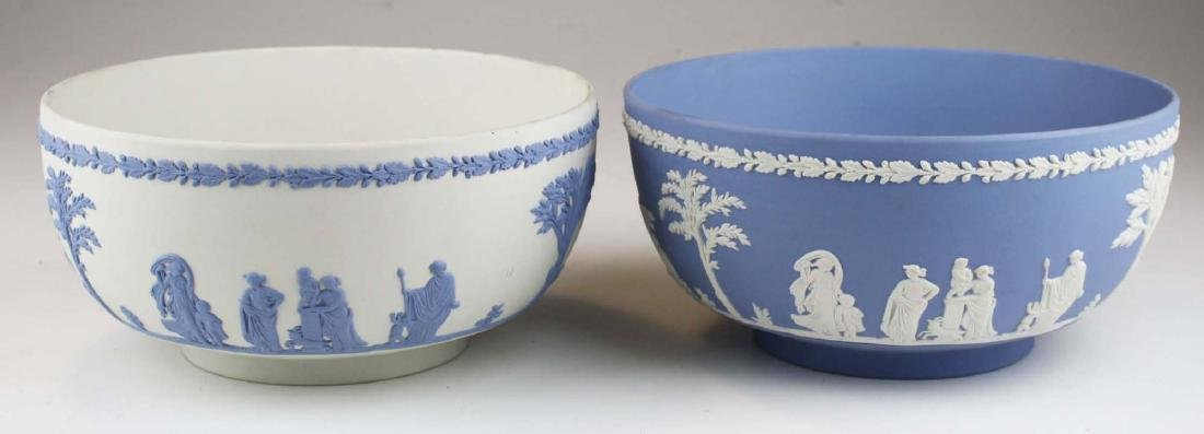 2 Wedgwood Jasperware Sacrifice serving or centerpiece