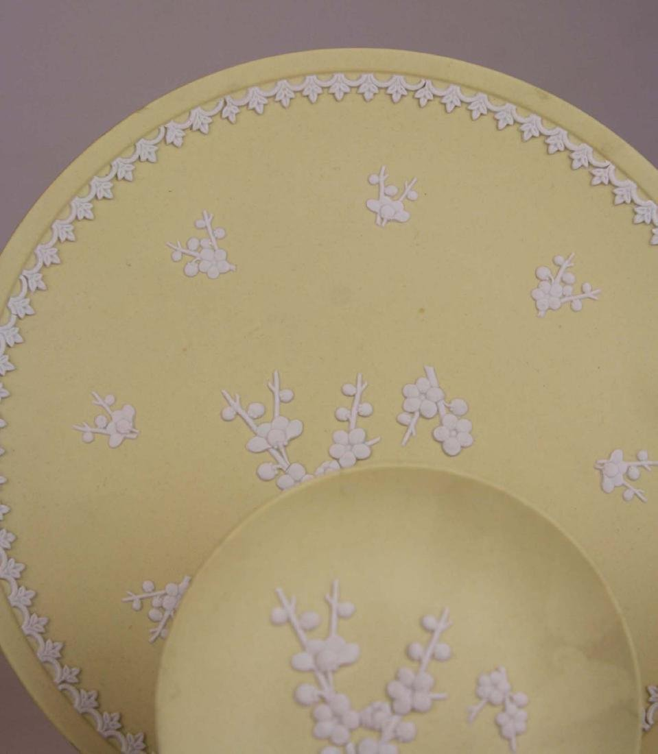 10 pcs Wedgwood primrose yellow Jasperware with Prunus - 7