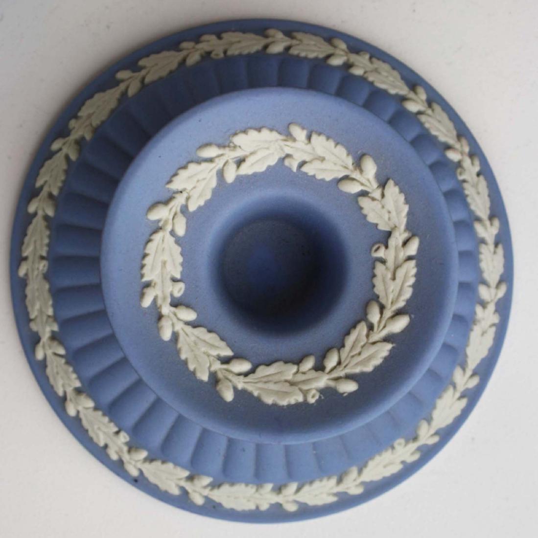 18 pcs. Wedgwood pale blue Jasperware tableware incl. - 4