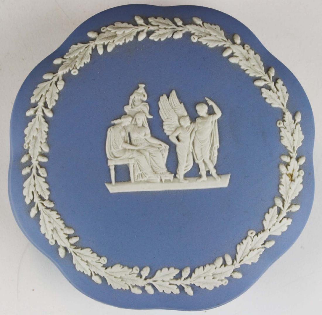 18 pcs. Wedgwood pale blue Jasperware tableware incl. - 6