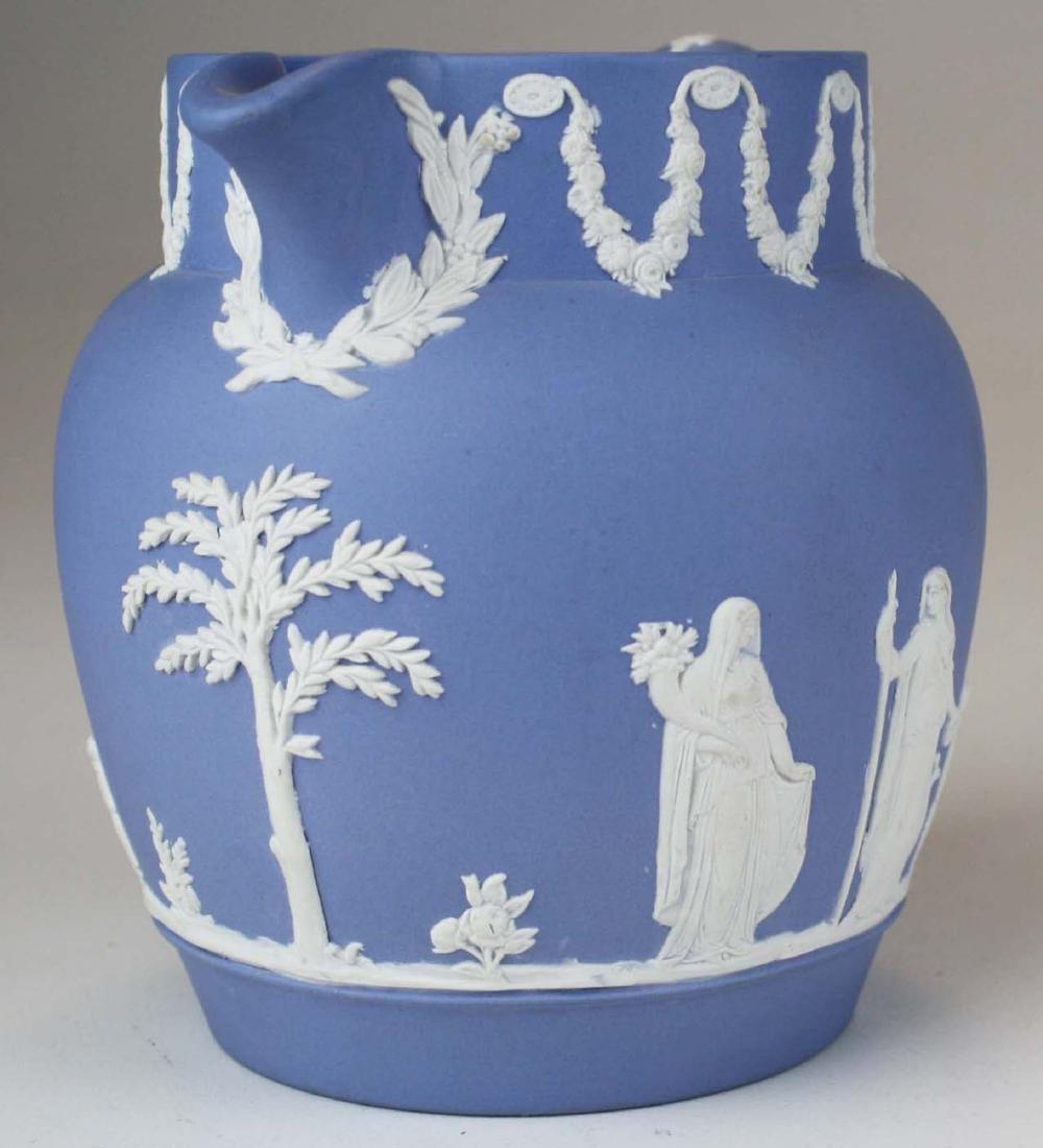 18 pcs. Wedgwood pale blue Jasperware tableware incl. - 8