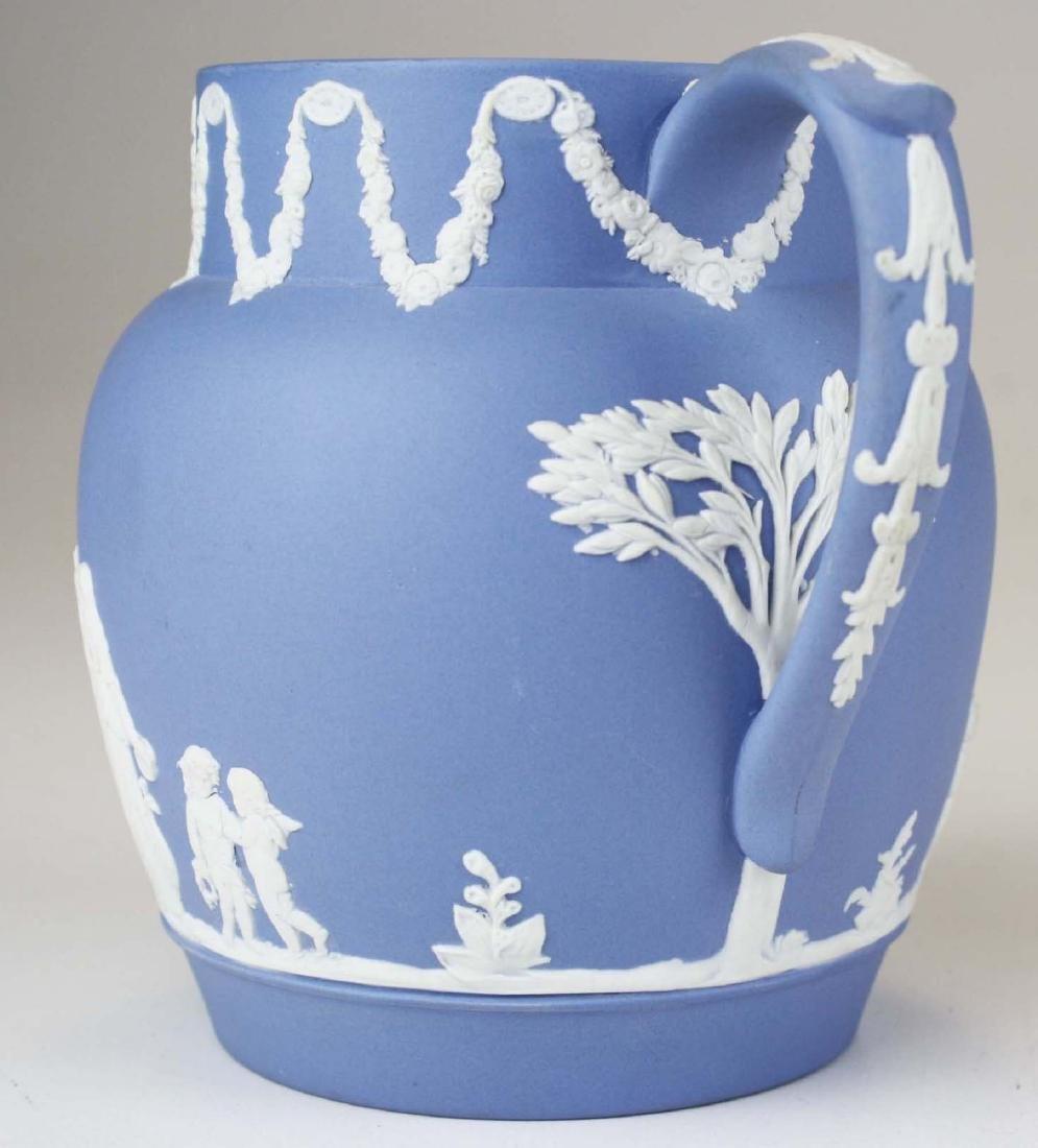 18 pcs. Wedgwood pale blue Jasperware tableware incl. - 9