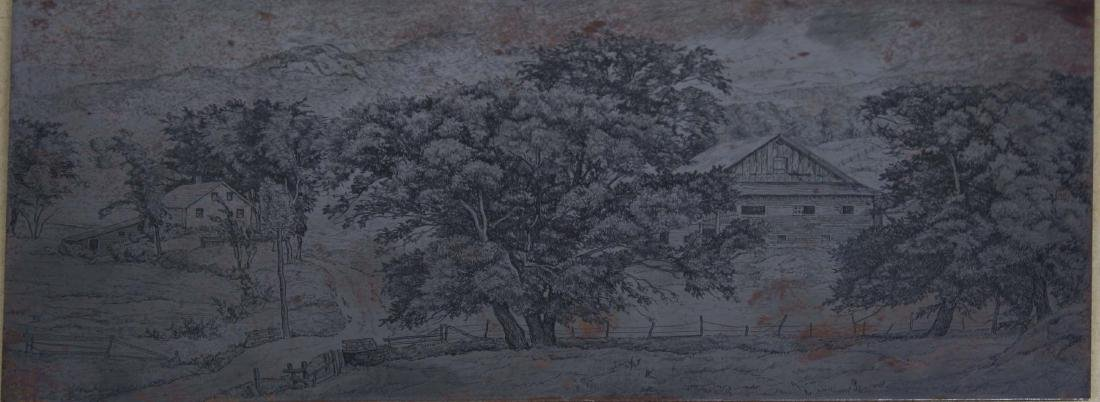 Luigi Lucioni (VT 1900-1988) Two etching plates and two - 2