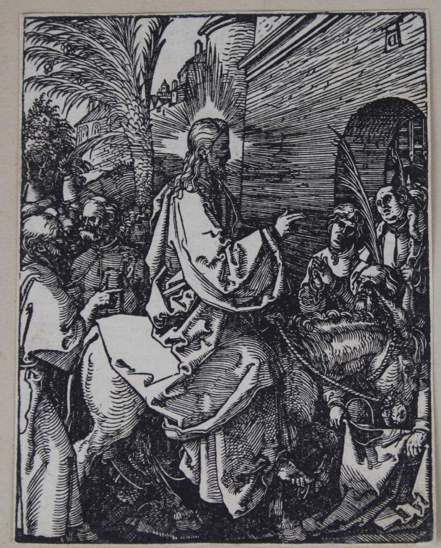 1506 Albrecht Durer (1471- 1528) original woodcut