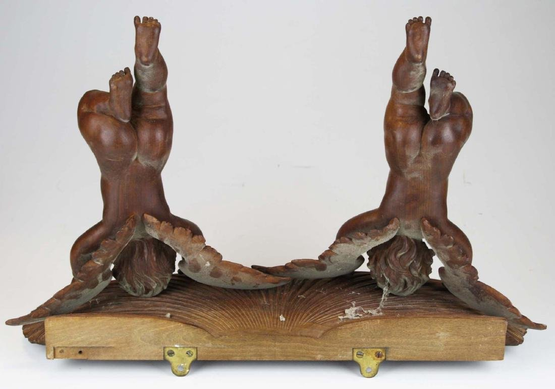 late 19th- early 20th c Victorian carved shelf - 2