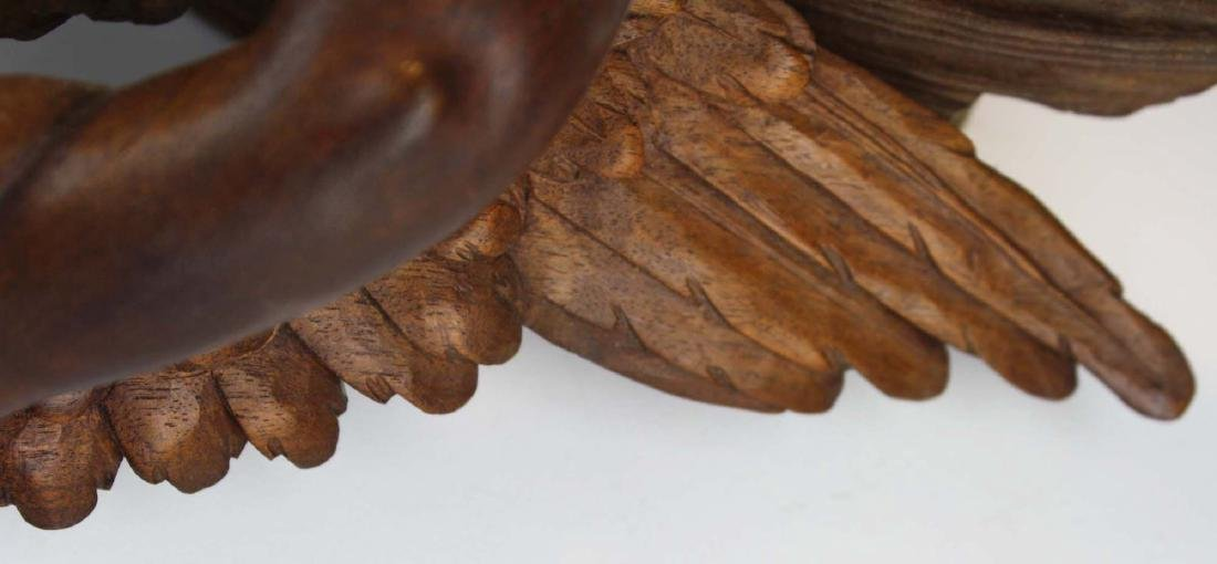 late 19th- early 20th c Victorian carved shelf - 5