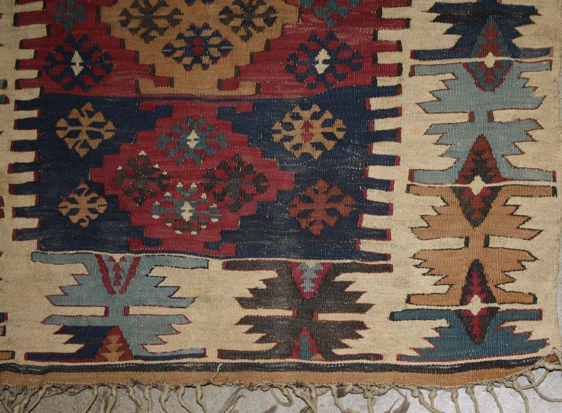 late 19th- early 20th c flatwoven tribal kilim - 2