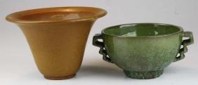 Marblehead Pottery Arts and Crafts era tobacco glaze