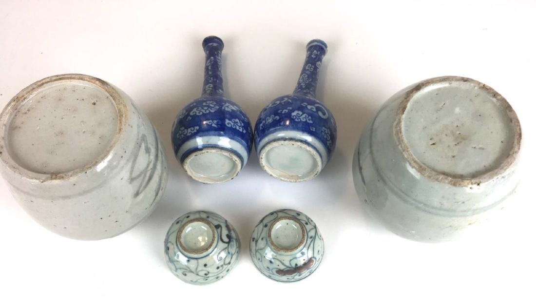 Lot of 6 Chinese ceramics - 2