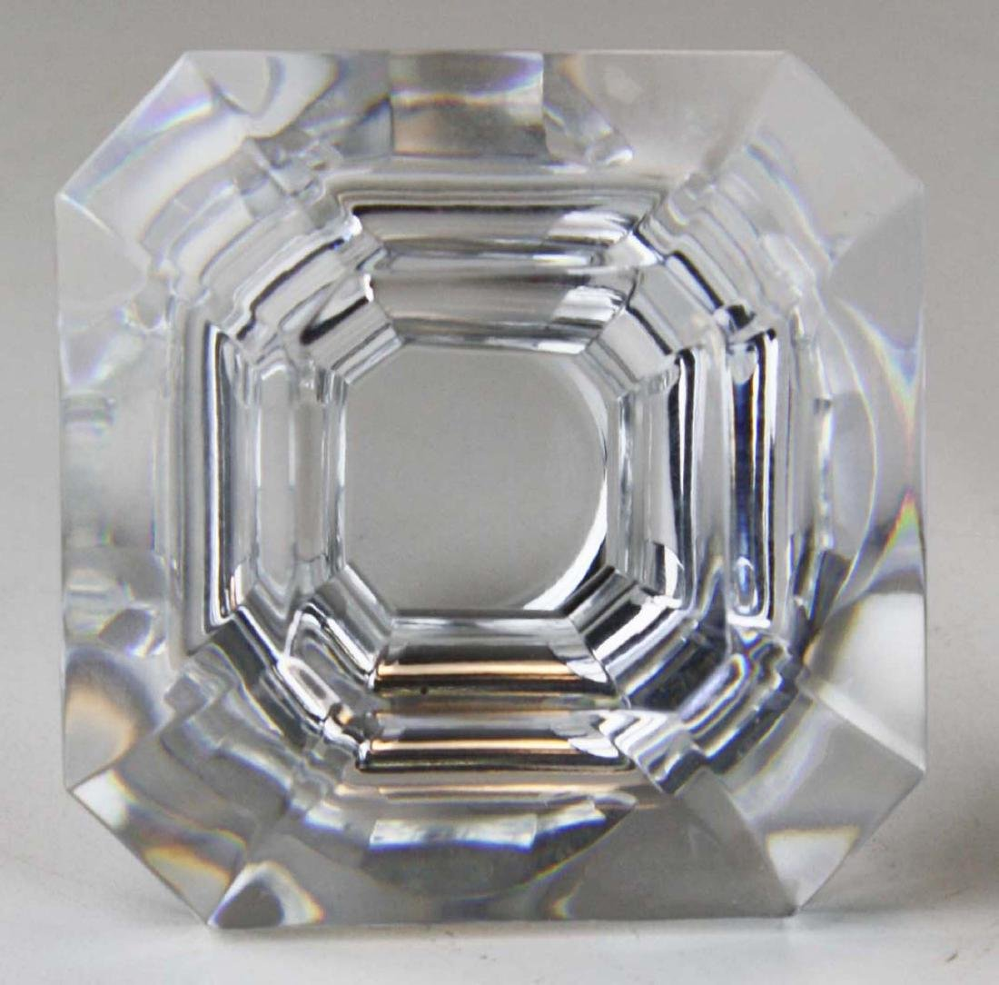 Baccarat Harcourt or Perfection signed crystal square - 2