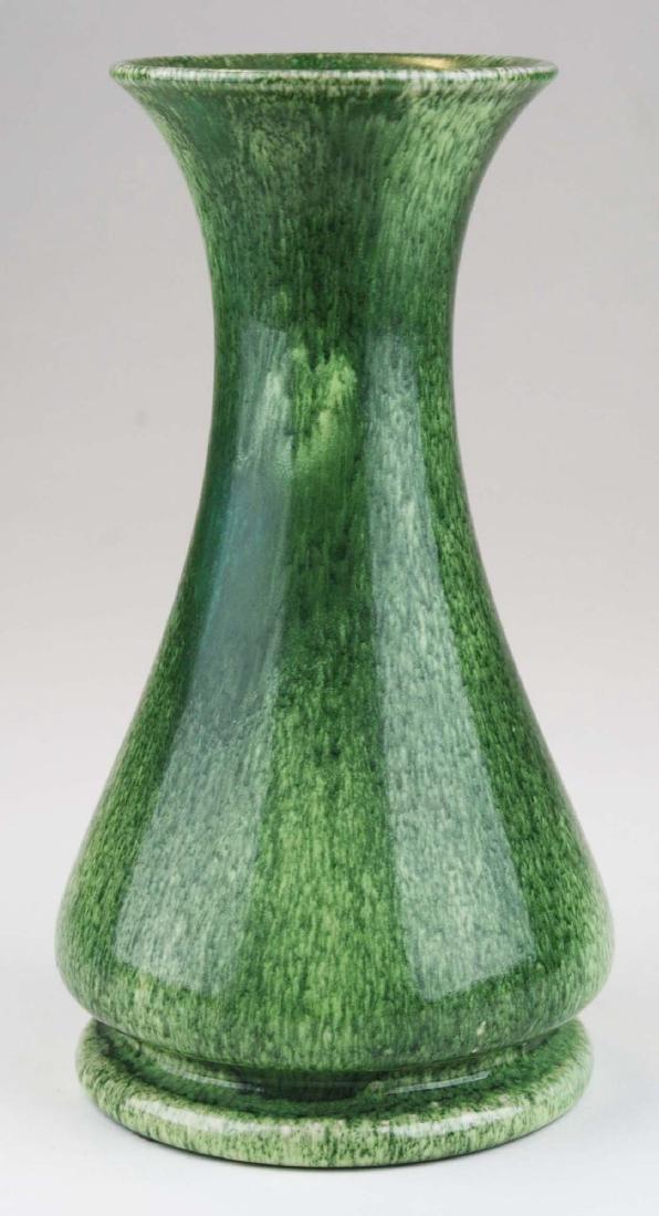 1906 Ruskin vase in snakeskin glaze