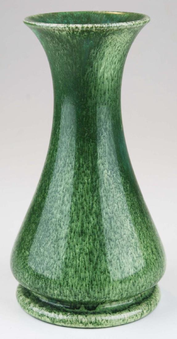 1906 Ruskin vase in snakeskin glaze - 2