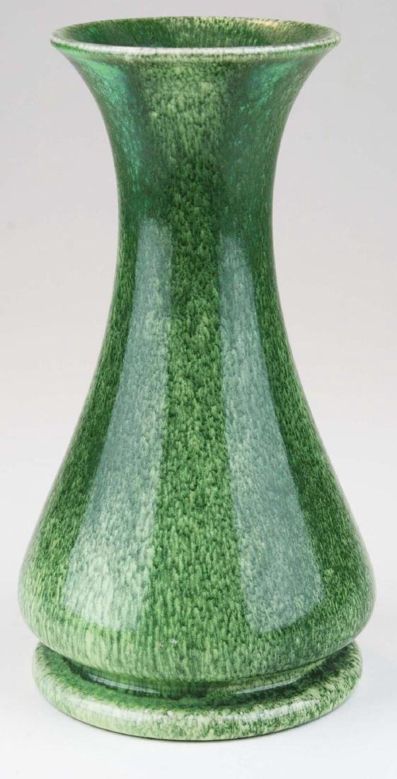 1906 Ruskin vase in snakeskin glaze - 3