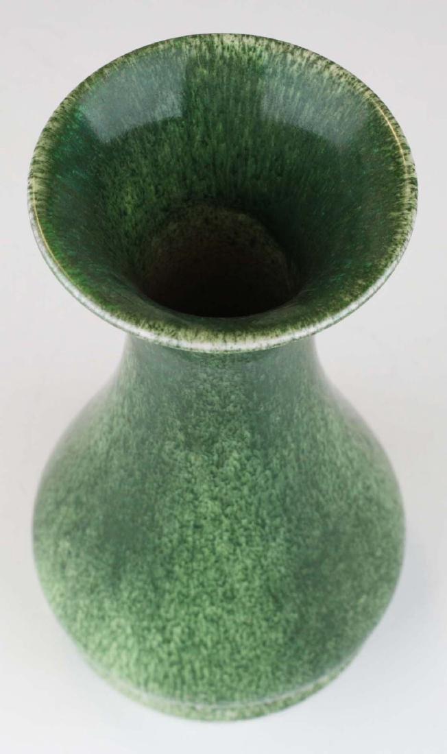 1906 Ruskin vase in snakeskin glaze - 4