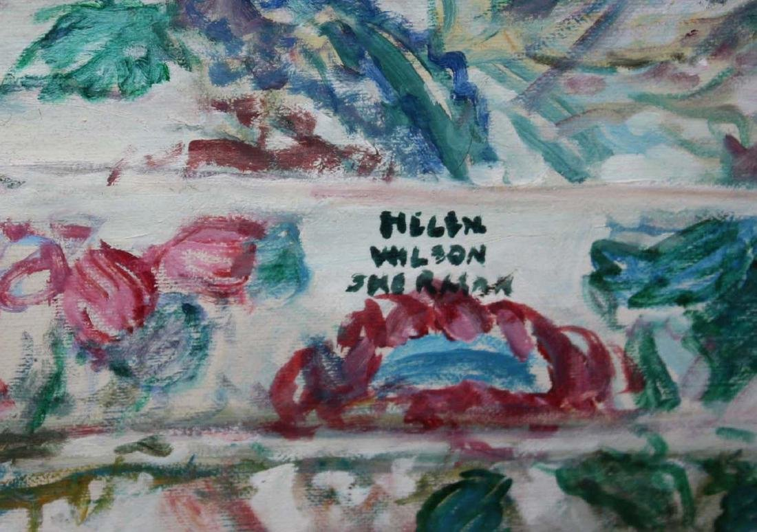 Helen Wilson Sherman (American 1913-2005) Two Dogs - 3