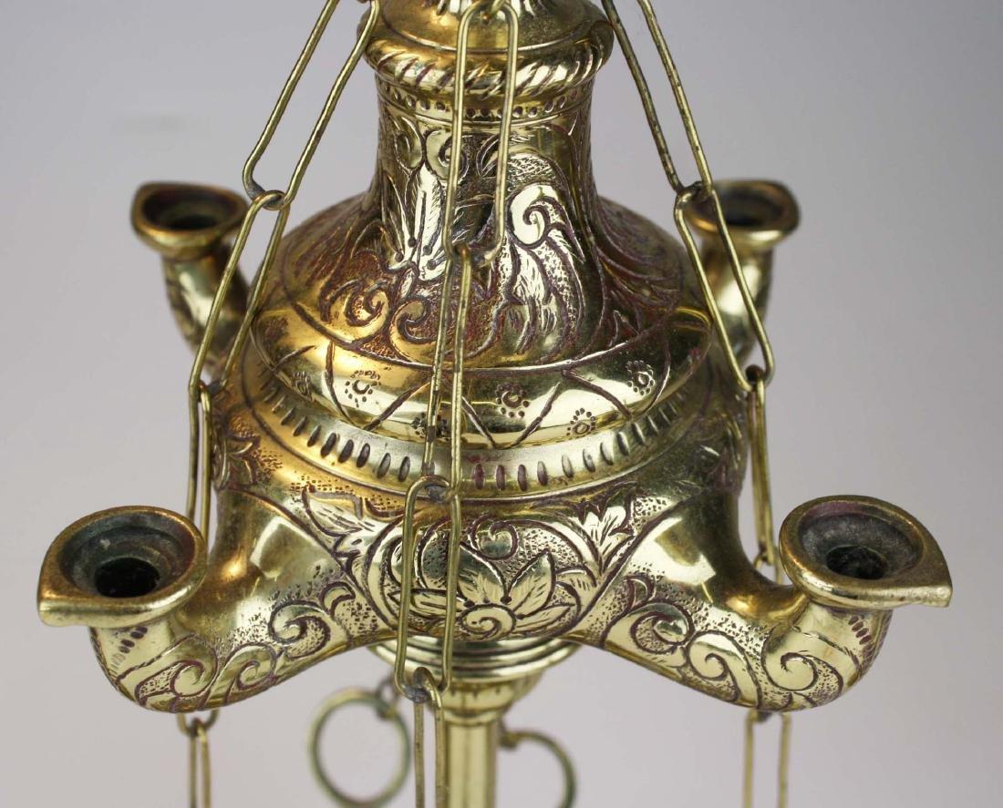 Turkish oil lamps & grass candlesticks - 2