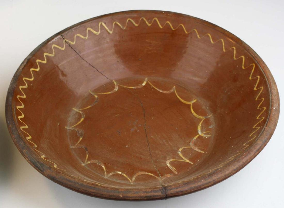 19th c redware & stoneware pottery - 3