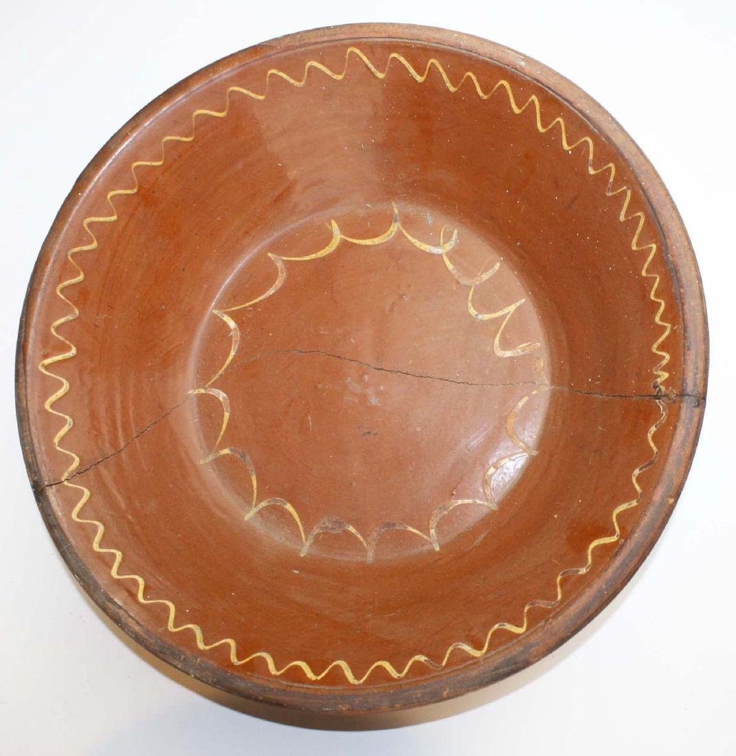 19th c redware & stoneware pottery - 5