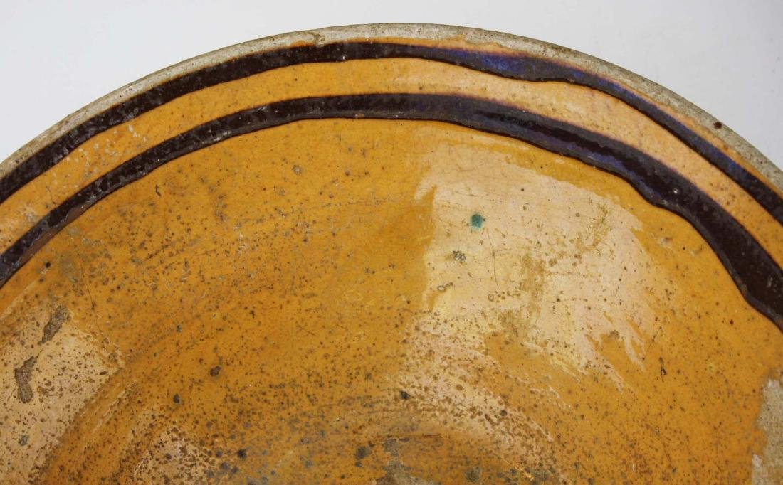 19th c redware & stoneware pottery - 6