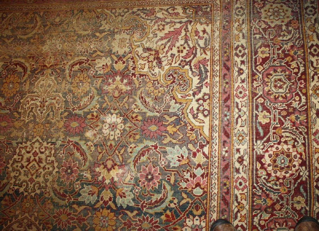 early 20th c Oriental room size carpet - 4