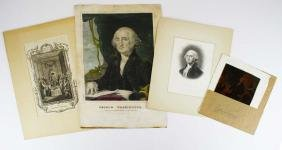 George Washington images, American Congress plate