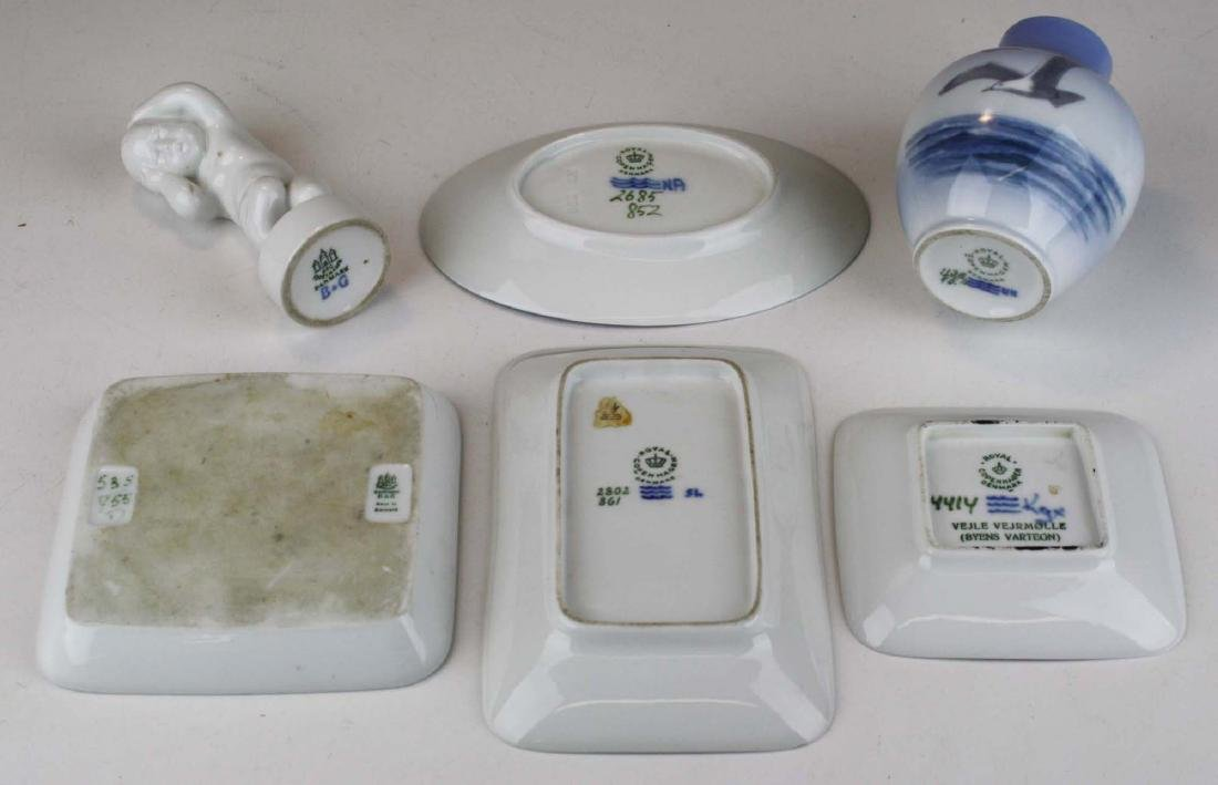 6 pcs Danish porcelain including Bing and Grondahl - 2