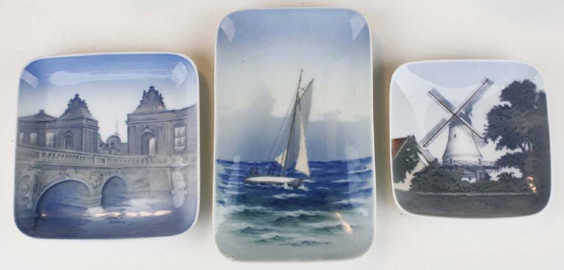 6 pcs Danish porcelain including Bing and Grondahl - 3