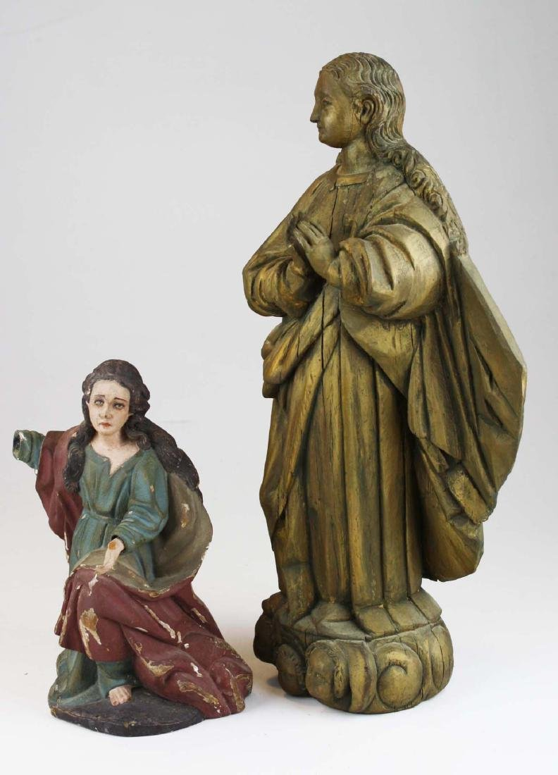 late 19th- early 20th c Roman Catholic carvings - 2