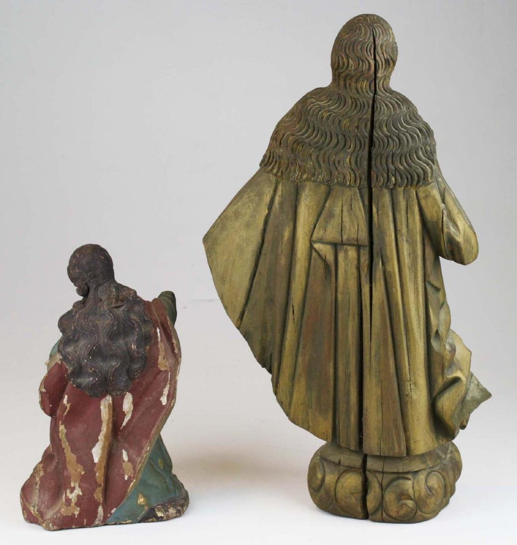 late 19th- early 20th c Roman Catholic carvings - 3