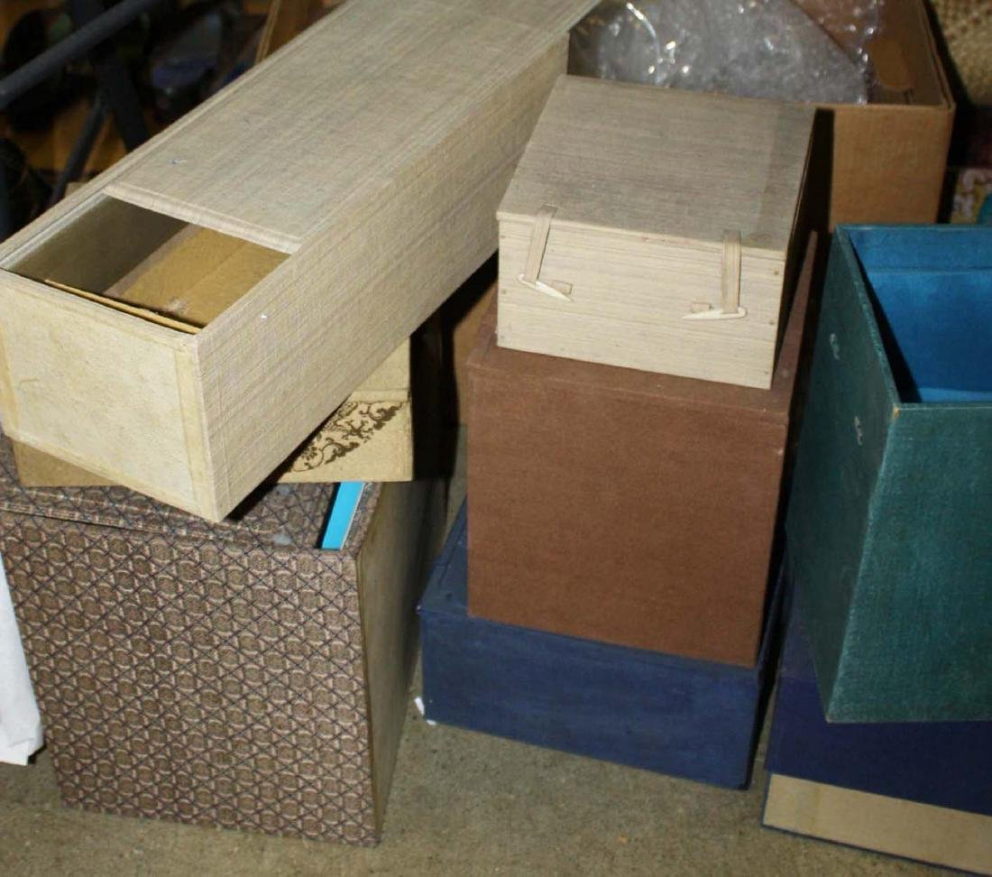 empty Chinese fitted boxes - 2