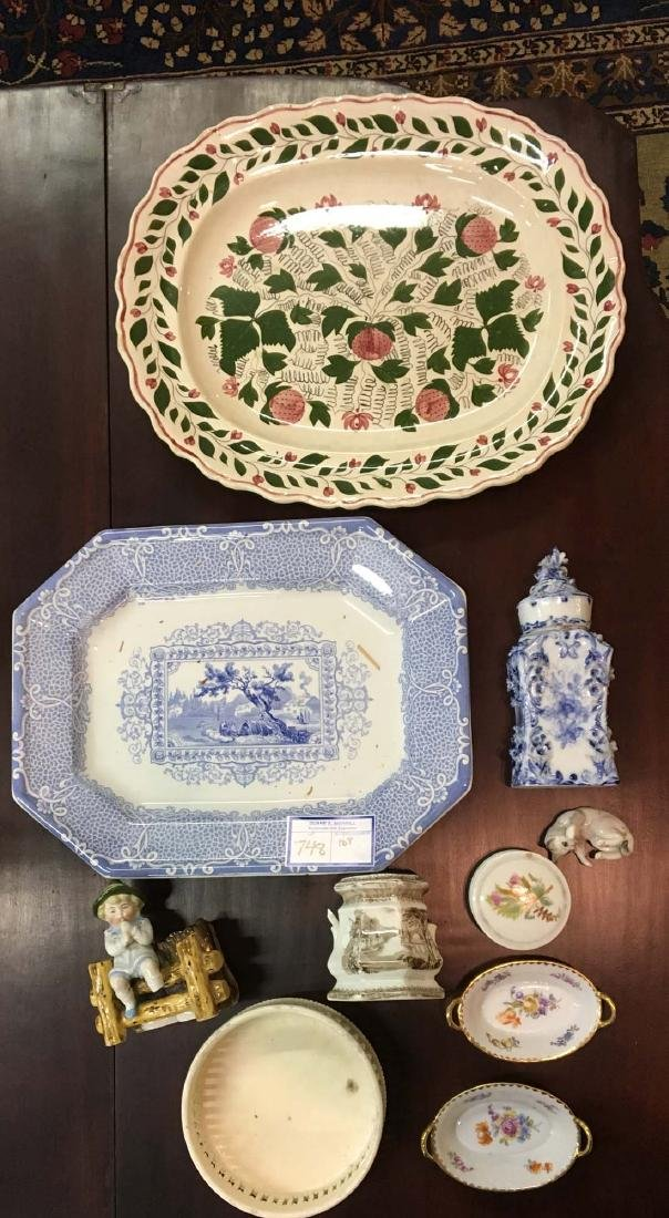 lot of early 19th c. porcelain and late Victorian china