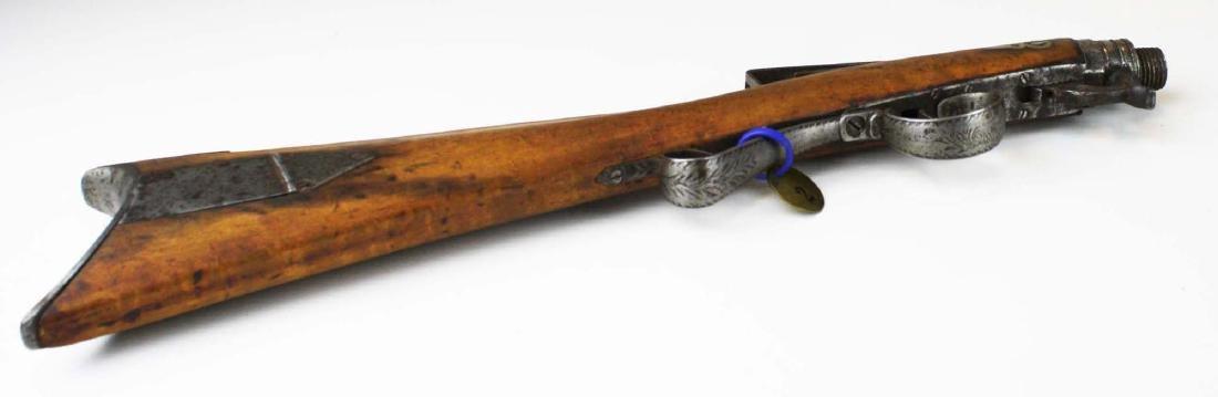 Cased Nicanor Kendall, Windsor VT Underhammer gun with - 7