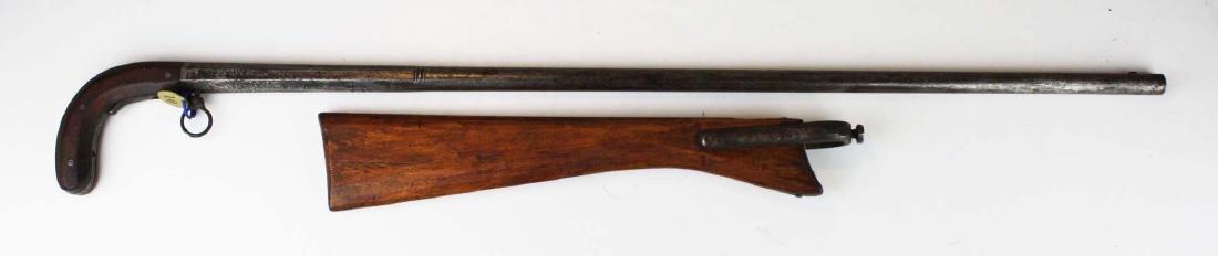 Unmarked gun cane .54 cal - 2