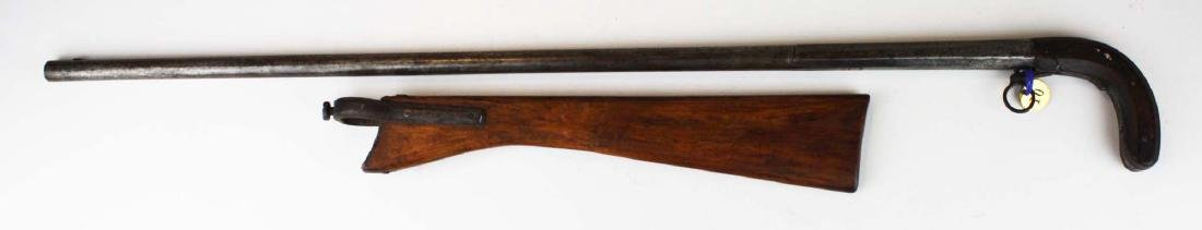 Unmarked gun cane .54 cal - 3