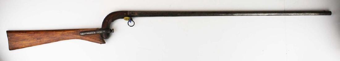 Unmarked gun cane .54 cal - 4