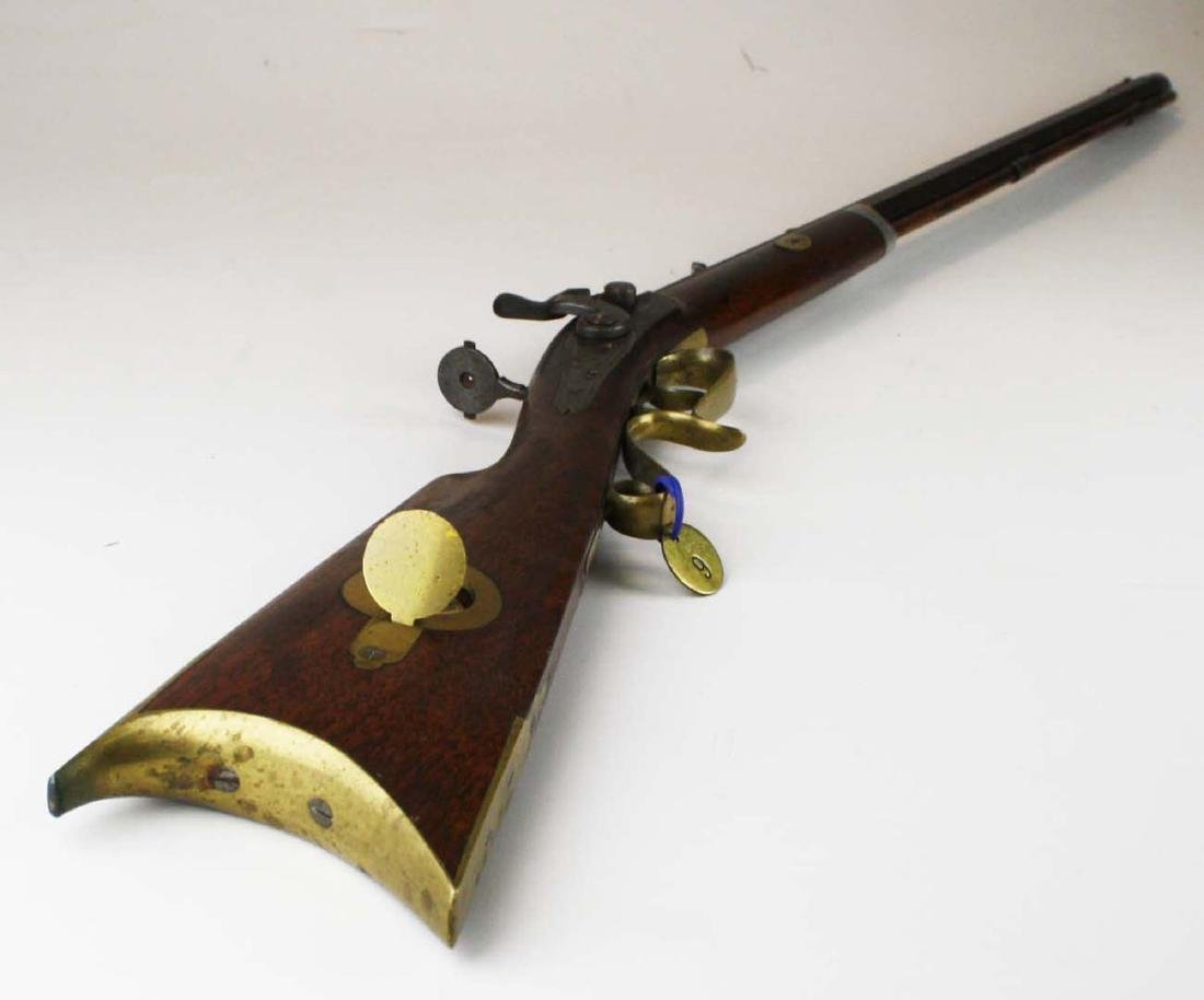 S.S. Baird Chittenden VT percussion rifle .34. Cal. - 3