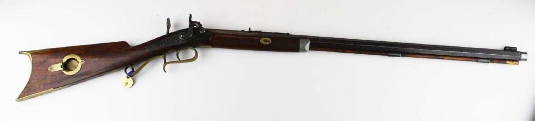 S.S. Baird Chittenden VT percussion rifle .34. Cal. - 4