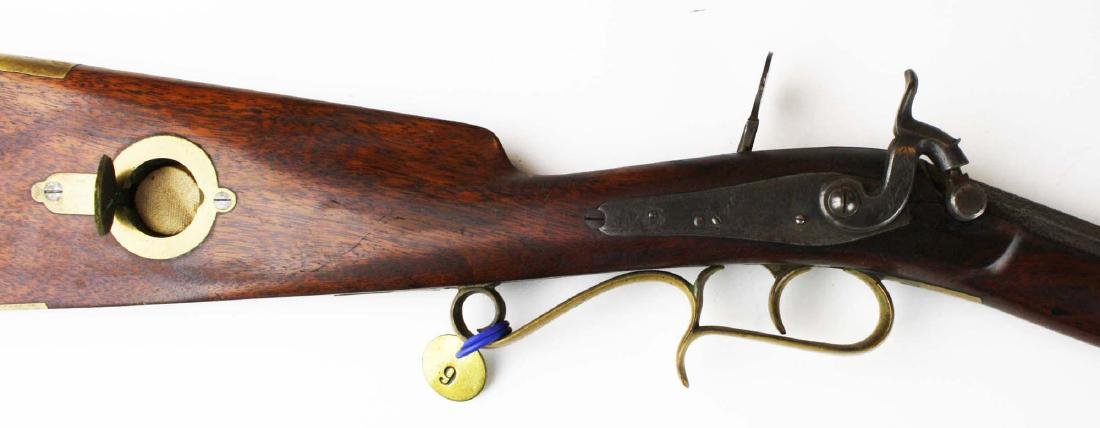 S.S. Baird Chittenden VT percussion rifle .34. Cal. - 5