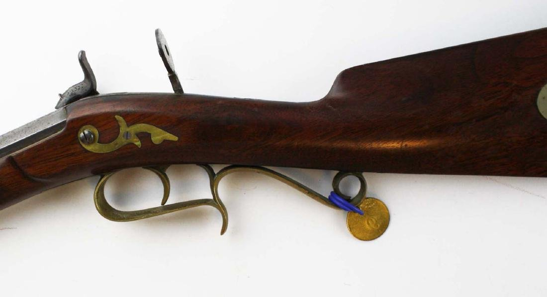 S.S. Baird Chittenden VT percussion rifle .34. Cal. - 6