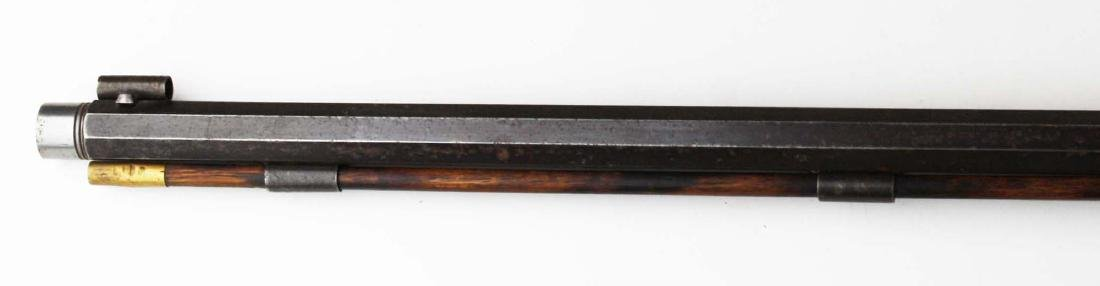 S.S. Baird Chittenden VT percussion rifle .34. Cal. - 8
